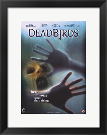 Framed Dead Birds Print