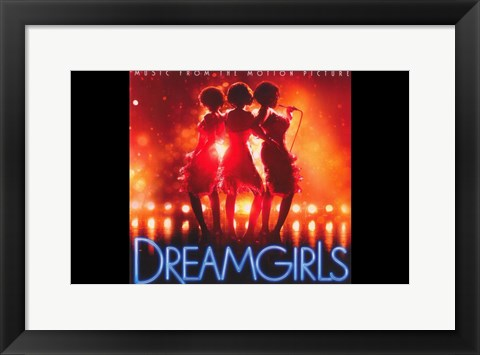 Framed Dreamgirls - music from the motion picture Print