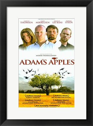 Framed Adams Apples Print