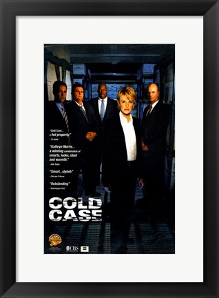 Framed Cold Case TV Show Print