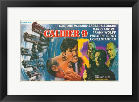 Framed Caliber 9 Print