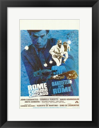 Framed Bandits in Rome Print