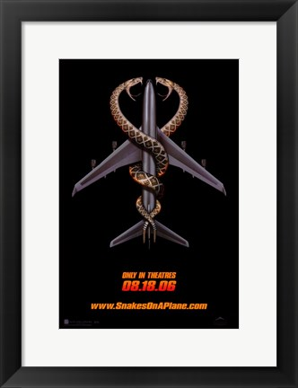 Framed Snakes on a Plane in Theaters Print