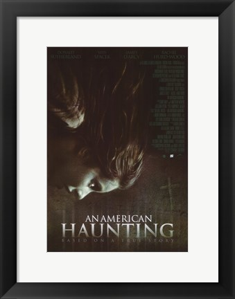 Framed American Haunting Print