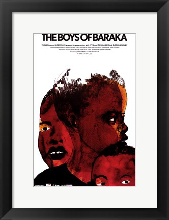 Framed Boys of Baraka Print