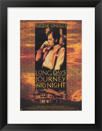 Framed Long Day's Journey Into Night Print