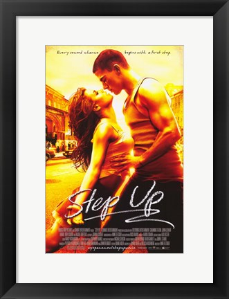 Framed Step Up Print