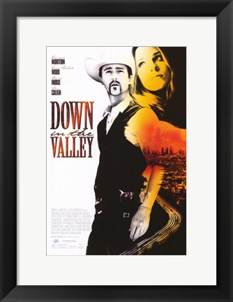 Framed Down in the Valley Print