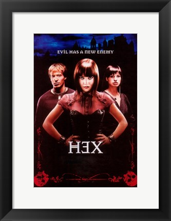 Framed Hex (TV) Print