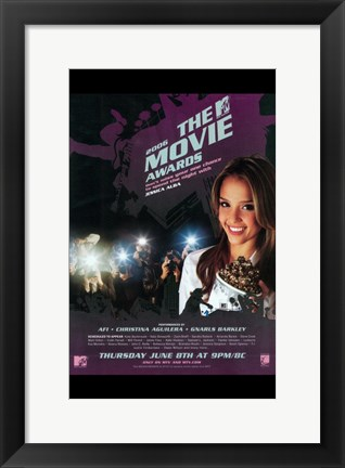Framed MTV Movie Awards Print