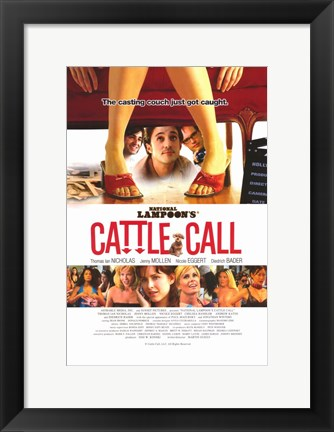 Framed National Lampoon's Cattle Call Print