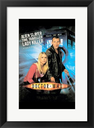 Framed Doctor Who TV Show Print