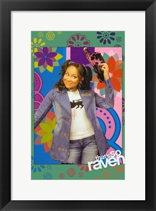 Framed That's So Raven - Raven alone Print