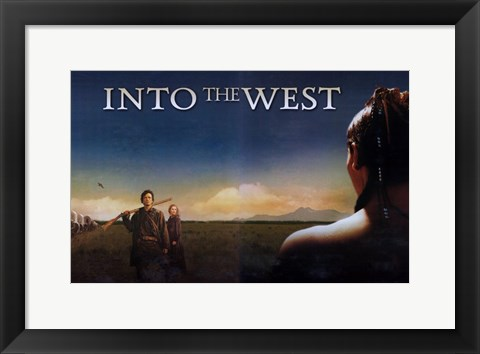Framed Into the West (TV) Print