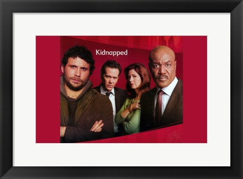 Framed Kidnapped (TV) Print