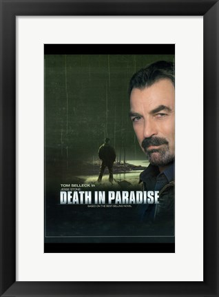 Framed Jesse Stone: Death in Paradise Print