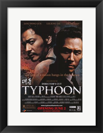 Framed Typhoon Director's Cut Print