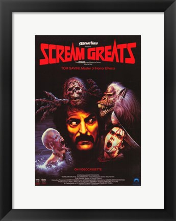 Framed Vol. 1: Tom Savini Scream Greats Print