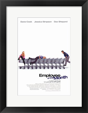 Framed Employee of the Month Print