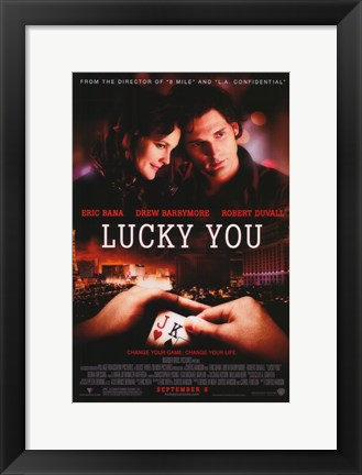 Framed Lucky You Print