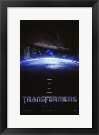 Framed Transformers - style A Print