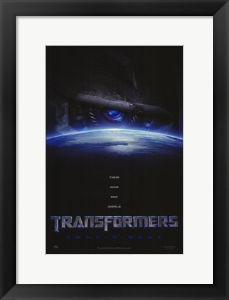 Framed Transformers - style D Print