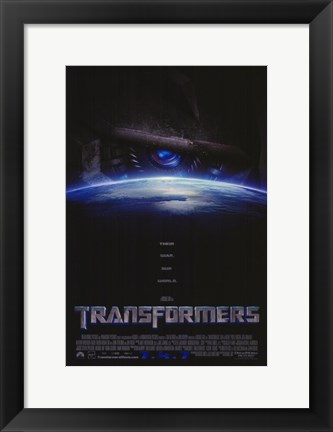 Framed Transformers - style E Print