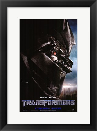 Framed Transformers - style F Print