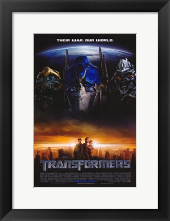 Framed Transformers - style H Print