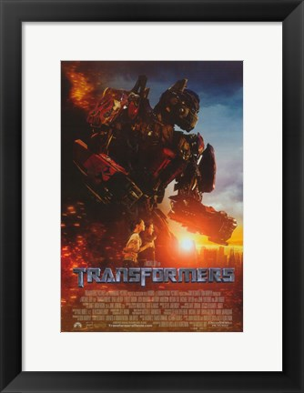Framed Transformers - style I Print