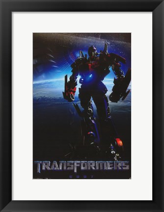 Framed Transformers - style J Print