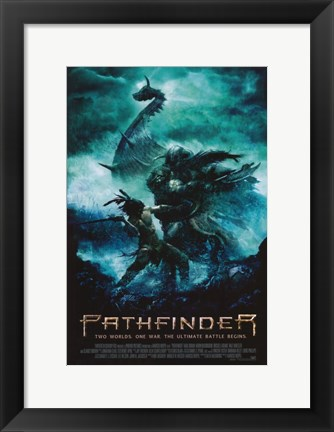 Framed Pathfinder: Two Worlds. One War, The Ultimate Battle Begins Print