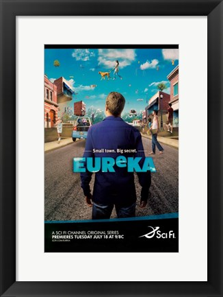 Framed Eureka (TV) Print