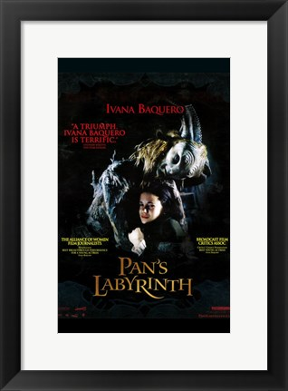 Framed Pan's Labyrinth - hugging Print