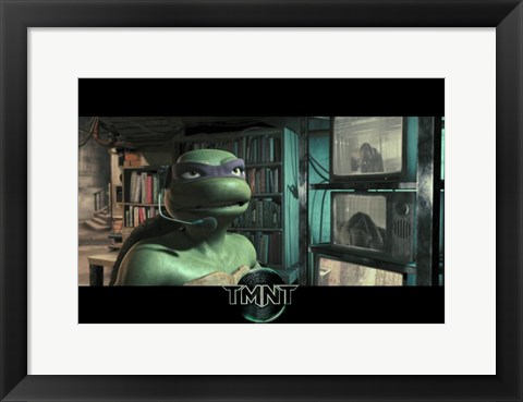 Framed Teenage Mutant Ninja Turtles Screenshot Print