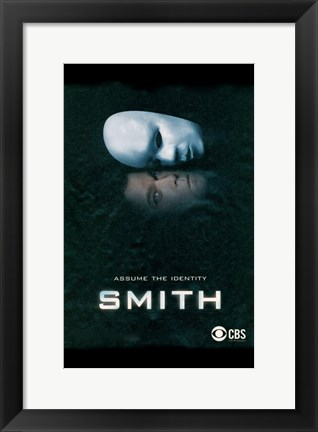 Framed Smith (TV) Print