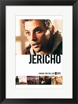 Framed Jericho (TV) Print