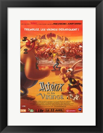 Framed Asterix and the Vikings Print