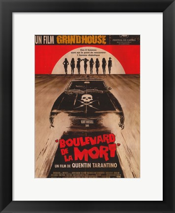Framed Grindhouse (spanish) Print