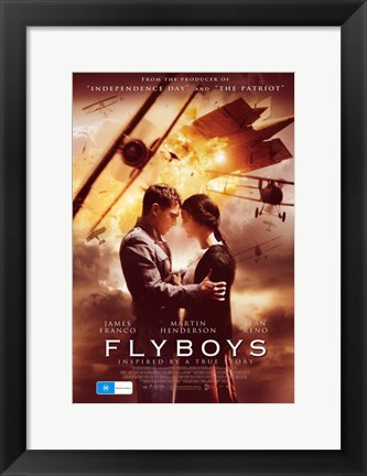 Framed Flyboys Print