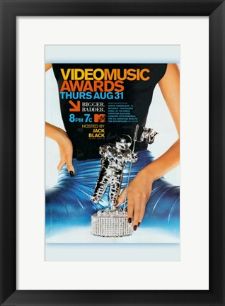 Framed MTV Video Music Awards Print