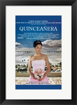 Framed Quinceanera Print