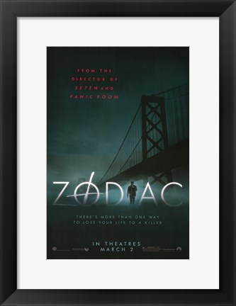 Framed Zodiac - there's more than one way Print