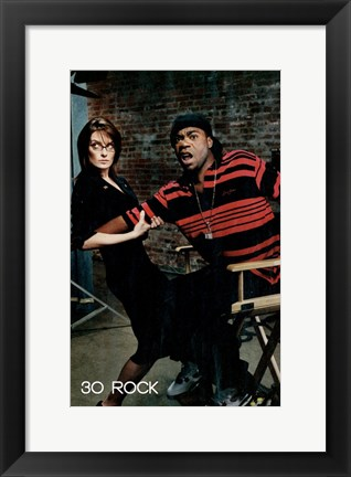 Framed 30 Rock Print
