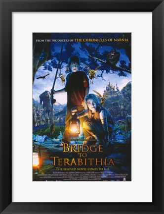 Framed Bridge to Terabithia Print