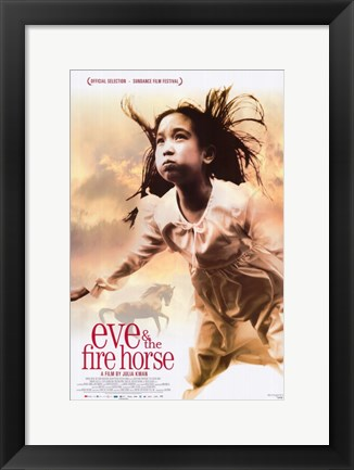 Framed Eve and the Fire Horse Print