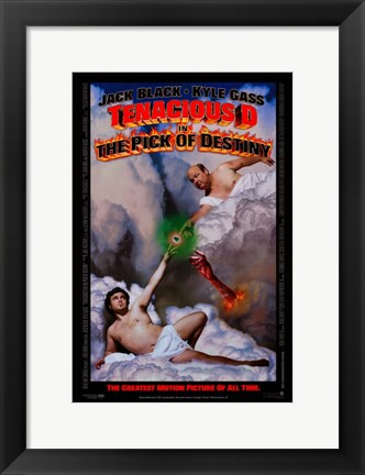Framed Tenacious D in: The Pick of Destiny Print