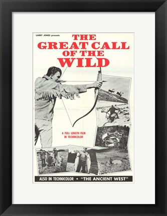 Framed Great Call of the Wild Movie Poster Print