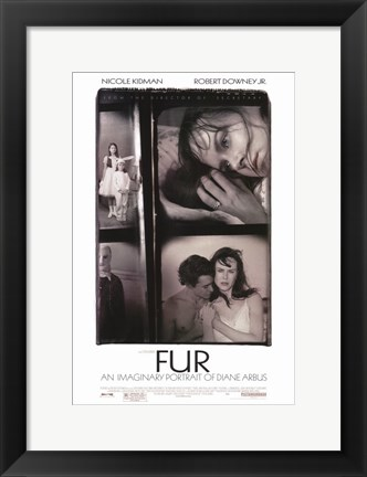 Framed Fur: An Imaginary Portrait of Diane Arbus Print