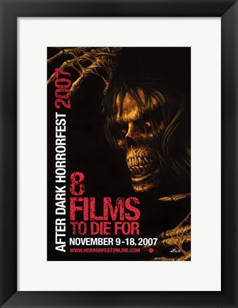Framed After Dark Horrorfest Print